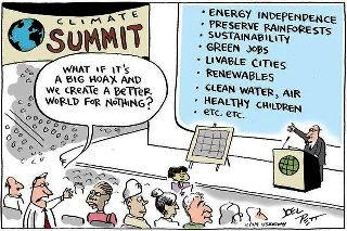 Funny cartoon on changing the world